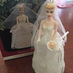 Hallmark 1997 wedding day Barbie